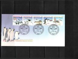 Australian Antarctic Territory 1988 Casey Animals FDC - FDC