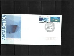 Australian Antarctic Territory 1990 Scientific Cooperation In Antarctica Mawson FDC - FDC