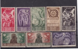 # Z.10352 Poland - Italy, 1945, Barletta Issue Sett Of 8 Stamps (x): WW2 Polish 2nd Army Corps In Italy - 1939-44: 2ème Guerre Mondiale
