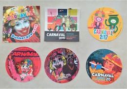 Dunkerque 6 Autocollants Du Carnaval Dunkerquois - Advertising