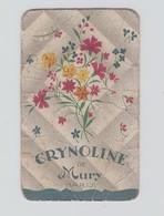 """Carte Parfumée - """" CRYNOLINE De MURY """" - Parfum  (dans L'état Voir Scan) - Vintage (until 1960)"""
