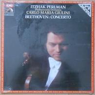 BEETHOVEN - Concerto - Album 33T - NEUF SOUS BLISTER - Carlo Maria Giulini - Itzhak Perlman - Klassik
