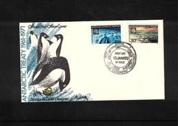 Australian Antarctic Territory 1972 Antarctic Treaty Davis FDC - FDC