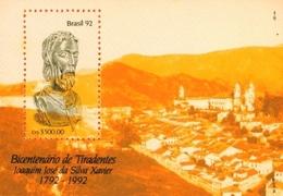 BRAZIL #2378  - HOMMAGE TO TIRADENTES  -  INCONFIDENCE HEROE -1992 - Brazil