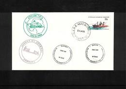 Australian Antarctic Territory 1986 MV Icebird Interesting Cover - Australisches Antarktis-Territorium (AAT)