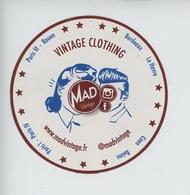 Mad Vintage Clothing - Paris Rouen Bordeaux Le Havre Caen Reims - Autocollant (8) - Publicité