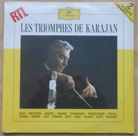 Les Triomphes De KARAJAN - Double Album 33T NEUF SOUS BLISTER - Klassik