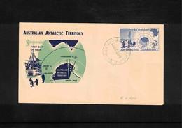 Australian Antarctic Territory 1957 2/'stamp FDC - FDC