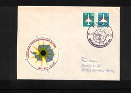 Deutschland / Germany DDR 1985 DDR 1985-1986 Antarctica Researches Interesting Cover - Antarktis-Expeditionen