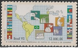 BRAZIL #2410 - 3rd Ibero-American Conference Of Heads Of State And Government  - Mnh 1993 - Brazil