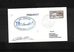 Deutschland / Germany 1988 MV Icebird Antarctic Season 1988/89 Interesting Cover - Antarktis-Expeditionen