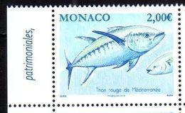 MONACO, 2019, MNH, FISH, TUNA,1v - Fishes