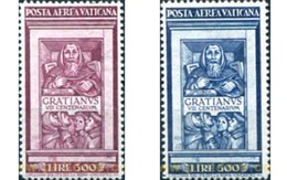 Ref. 115641 * MNH * - VATICAN. 1951. 8th CENTENARY OF DECREE OF GRATIAN . 8 CENTENARIO DEL DECRETO GRATIANI - Nuovi