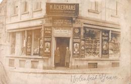 Fotokaart Sint-Jans-Molenbeek M . Ackermans Alimentation Supérieure - Meise