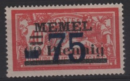 MEM 47 - MEMEL Merson N° 42 Neuf** - Ungebraucht