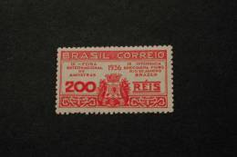 Brazil 427 MNH Sample Fair Federal District Coat Of Arms 1936 A04s - Brazil