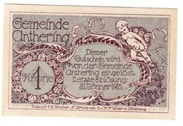 Austria Notgeld - ANTHERING 1 Krone AUNC - Austria