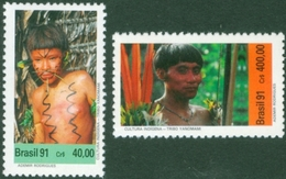 BRAZIL #2313 -  BRAZILIAN  INDIANS  -  CULTURE - YANOMANI  - MINT - Brazil