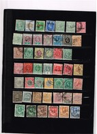 Colonies Britanniques Vrac Anciens Timbres à Identifier - Collections (sans Albums)
