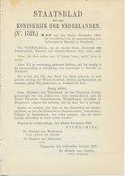Staatsblad 1936 : Tramwegen Drenthe - Overijssel - Historische Documenten