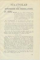 Staatsblad 1937 : Tramwegen In Zeeuws Vlaanderen - Historische Documenten