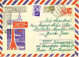 USSR Uprated Registered Postal Stationery Cover 22-8-1970 - 1970-79