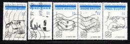 N° 2681,2,3,5,6 - 1991 - Francia