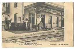 CIREY - La Guerre De 1914 - La Gare Pillée Par Les Allemands - Cirey Sur Vezouze