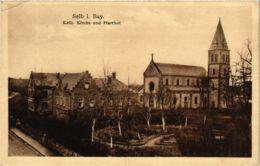 CPA AK Selb Kath.Kirche Und Pfarrhof GERMANY (877893) - Selb