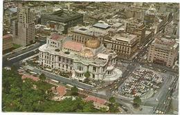 W4217 Mexico D. F. - Vista Aerea Del Palacio De Bellas - Aerial View Vue Aerienne Panorama Aereo / Viaggiata 1974 - Messico