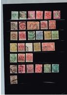 Colonies Britanniques Vrac Anciens Timbres à Identifier - Stamps