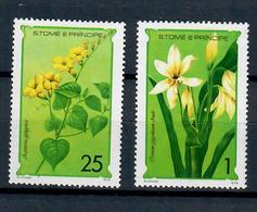 SAN TOME' E PRINCIPE 1979 - FLORA- FIORI - 2 VALORI - MNH ** - Flora