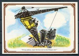 1983 GB Regional Card SEPR 36, South East Postal Region, Post Office Cartoons, Brighton, Wimpey Punch, First Day - 1952-.... (Elizabeth II)
