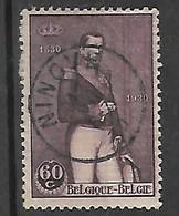 OCB Nr 302 King Roi Koning Leopold I - Centrale Stempel Ninove - Belgique