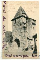 - 56 - ALLASAC - ( Corrèze ), L'Eglise, Clocher Fortifié, Animation, Coins Impeccables, écrite, 1903, TBE, Scans. - Francia
