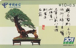TARJETA DE CHINA. BONSAI, HNZ-26(4-1). (683) - Fleurs