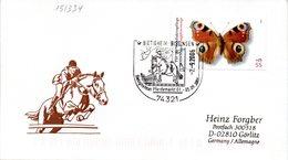"""(FC-6) BRD Schmuck-Umschlag """"Reitsport"""" EF Mi 2502 SSt. 2.9.2006 BIETIGHEIM-BISSINGEN - Reitsport"""