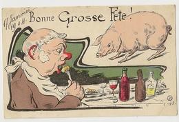 74  -Bonne Grosse Fête ! -  Cochon - Humour