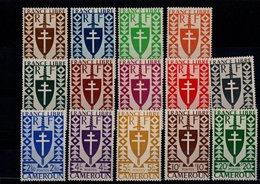 Cameroun 1941 N° 249 à 262 Timbres Neufs ** 14 Valeurs - Cameroun (1915-1959)