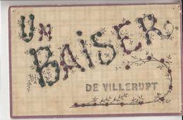 54- Villerupt Un Baiser Carte A Paillettes - Other Municipalities