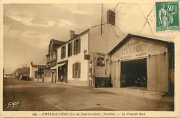- Vendée -ref-E713- Noirmoutier - L Herbaudière -grande Rue - Garage Gendron - Garages - Automobile - Marine -edit Gaby. - Noirmoutier