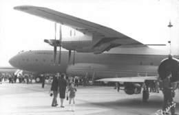 "0685 ""TORINO CASELLE - TURBOELICA  ANTONOV AN - 22 ANTEI - MANIF. AEREA - 1968"" ANIMATA FOTO ORIG. - Aviazione"