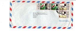 TRINIDAD & TOBAGO AFFRANCHISSEMENT COMPOSE SUR LETTRE POUR LA FRANCE 1975 - Trinidad Y Tobago (1962-...)