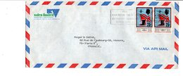 TRINIDAD & TOBAGO AFFRANCHISSEMENT COMPOSE SUR LETTRE POUR LA FRANCE 1976 - Trinidad Y Tobago (1962-...)