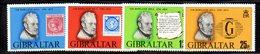 GIBILTERRA 1979 , Serie N. 389/392  MNH  ***  Scout Hill - Gibilterra