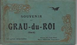 Carnet Ancien De 12 Cartes Color LE GRAU DU ROI (GARD) Bon état - Le Grau-du-Roi