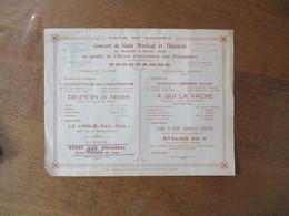 VILLE DE CAUDRY CONCERT DE GALA MUSICAL ET THEÂTRAL DU 4 FEVRIER 1942 AU PROFIT DE L'OEUVRE D'ASSISTANCE AUX PRISONNIERS - Programme