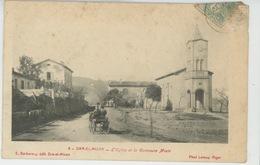 AFRIQUE - ALGERIE - DRA EL MIZAN - L'Eglise Et La Commune Mixte - Autres Villes