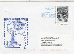 Frégate LATOUCHE TREVILLE Corymbe 120 - 13/5/2013 Avec MonTimbraMoi  Cyclisme - Poststempel (Briefe)