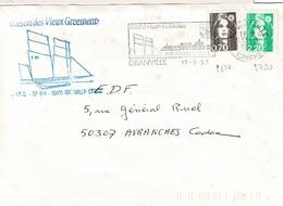 TP N° 2790 Et 2824 Sur Enveloppe De Granville ( Vieux Gréements) - 1961-....